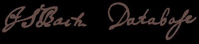 J.S. Bach Database
