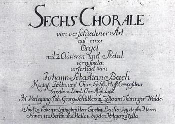 Schübler-korálok címlap